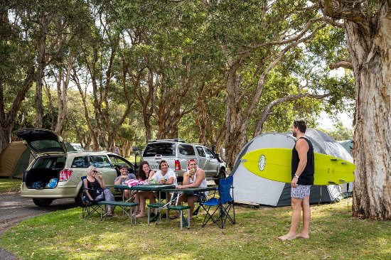 Park Beach Holiday Park: Powered and Unpowered Camping Sites