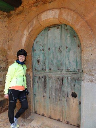 Castrillo de los Polvazares: puerta en Castrillo de Polvazares