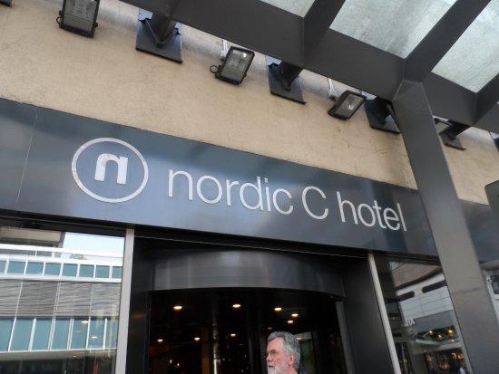 Nordic C Hotel: hotel entrance