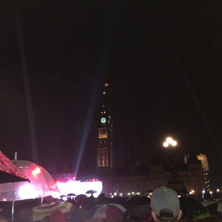 Ottawa, Canada: Parliament Hill by night