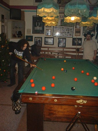 Enterprise, Алабама: 10' snooker table