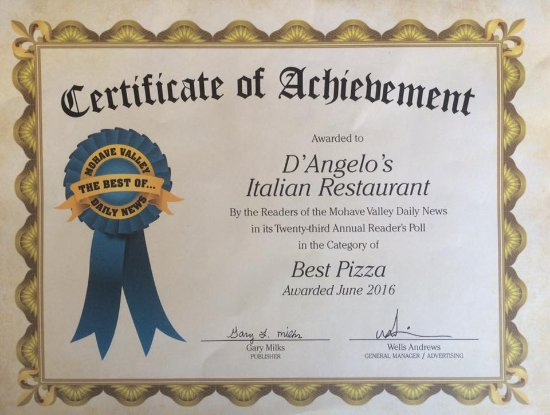 voted best pizza picture of d angelo s italian restaurant  d angelo s italian restaurant voted best pizza 2016