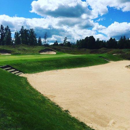 Karta Over Golfbanor I Sverige.Sand Golf Club Hotel Bankeryd Sverige Omdomen Och
