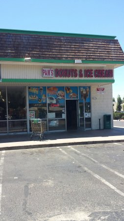 Hemet, Californië: Pam's Donut & Ice Cream