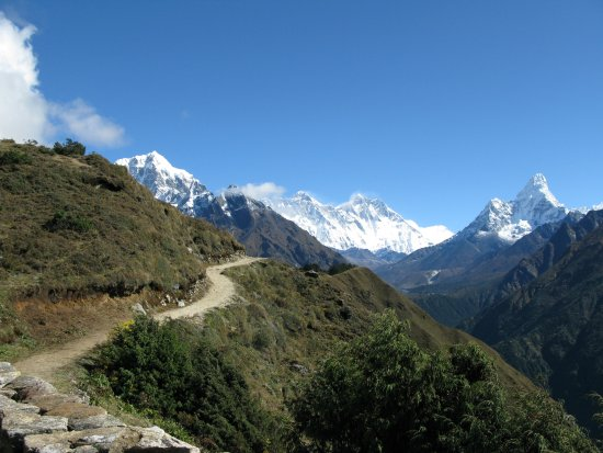 Kathmandu Valley, Νεπάλ: Way to Tengboche in Everest region