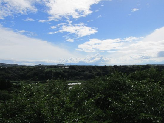 Tabaruzaka Park : 高台からの景色