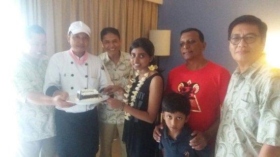Bali Rani Hotel: Hbd celebration