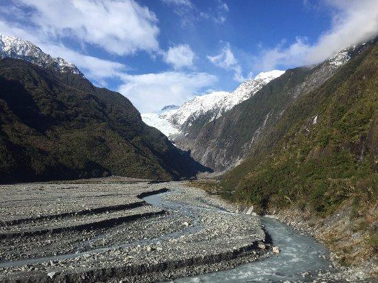 Franz Josef, Nueva Zelanda: The glacier valley