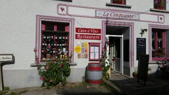 Groix, France: RESTAURANT CAVE LE CINQUANTE