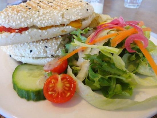 The Shed: Goats cheese panini