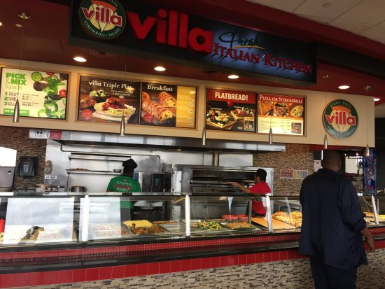 Villa Fresh Italian Kitchen 4098 Newark Restaurant Reviews
