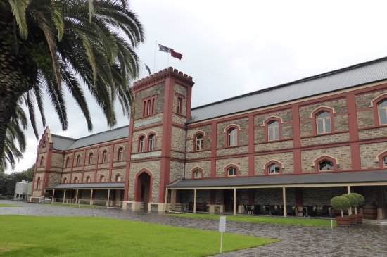 Historic buildings at Chateau Tanunda