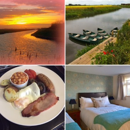 Fourwinds B&B: Good food, good bed, lovely views