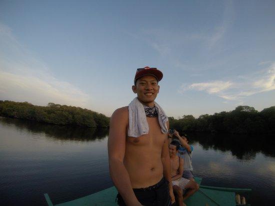 Sablayan, ฟิลิปปินส์: Lagoon sunset