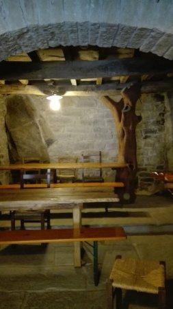 Rifugio I Diacci: Una delle tante piccole sale ristorazione