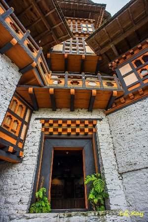 The Tower of Trongsa Museum: Compound