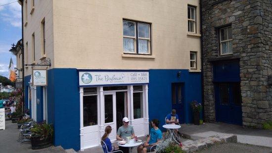 The Bogbean Café in Roundstone