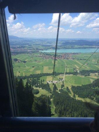 Schwangau, Alemania: Завораживающий вид,дух захватывало