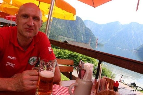 Bad Goisern, Autriche : Smaczne piwo :)