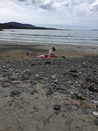 Леттерфрак, Ирландия: Great beach