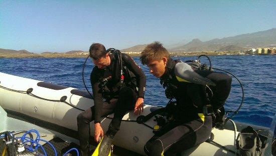 Palm-Mar, Espanha: Dive Club Tenerife - Ocean Project
