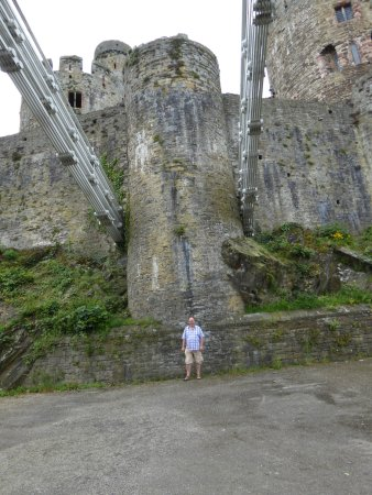Conwy Castle: Walls of the Castle