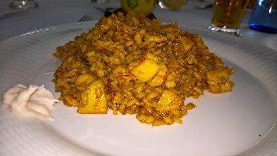 """Sant Climent, Espanha: arroz meloso de """"senyoritu"""""""