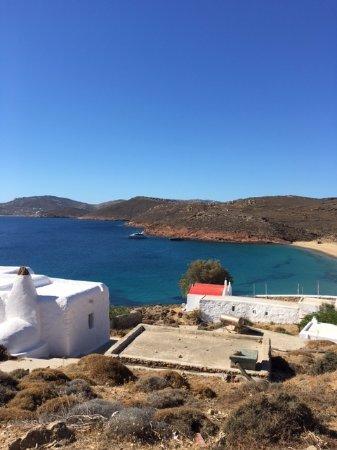 Agios Sostis Beach: view