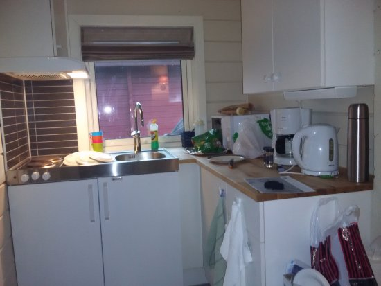 Troms, Noorwegen: kitchen