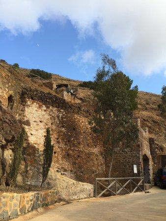 La Union, Spain: Imagen del exterior de la mina