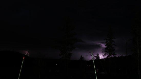 Lead, SD: Lightning show.