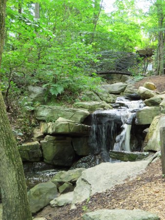 Greensboro, Carolina del Norte: tranquil water fall