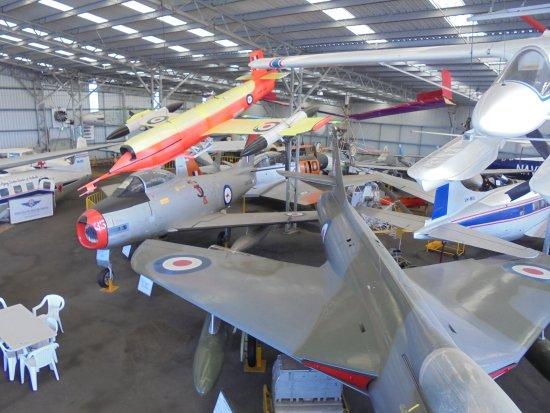 Caloundra, Australia: A bit cluttered in hangar 2