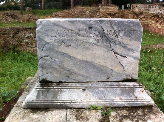Ostia Antica, Italië: Entrada