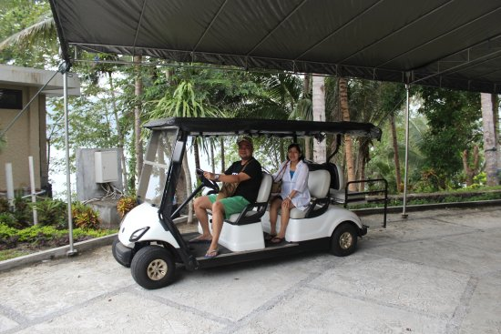 DABIRAHE Dive, Spa and Leisure Resort (Lembeh): Fasilitas Golf Car buat yang mau keliling Resort