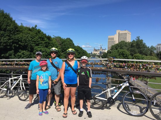 Ottawa, Canada: Escape bicycle tours got us to places that we would never have gone on our own!