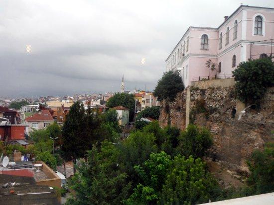 Erguvan Hotel: View from terrace