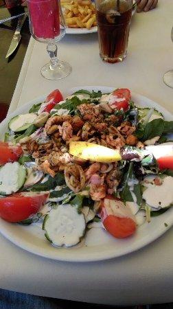 Pirineos Orientales, Francia: Salade méridionale