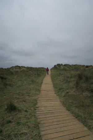 Thornham, UK: the path at Holme Dunes