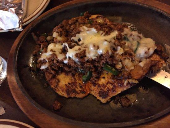 Grand Island, Небраска: chili-like topping
