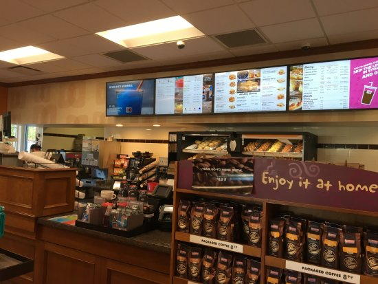 Dunkin' Donuts - inside store - Picture of Dunkin', Penfield