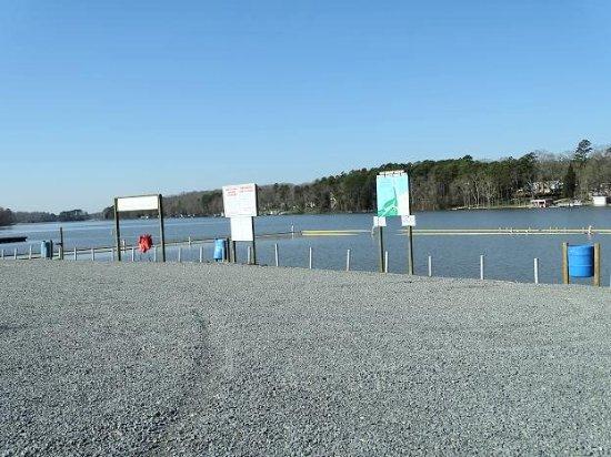 High Rock Lake: swim area