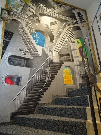 Treppen Und Gange Schon Geplant Picture Of Hotel Zum