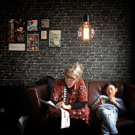 Runavik, Islas Feroe: Café Cibo