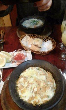 El Rincon de Azocar: Pastel de jaibas y mariscal caliente