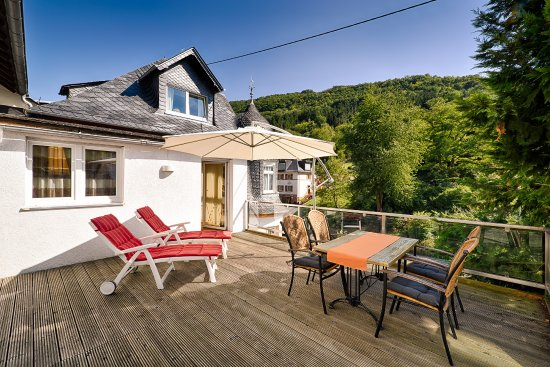 Oberheimbach, Alemania: Terrasse Junior Suite