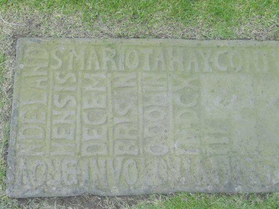 New Abbey, UK: Headstone