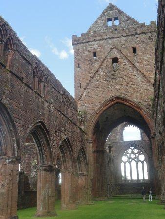 New Abbey, UK: Inside