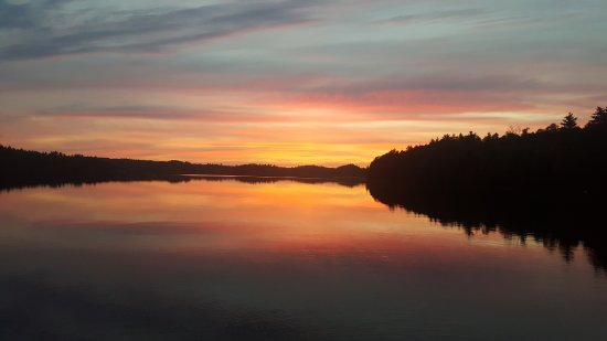 Crane Lake, MN: Amazing sunsets