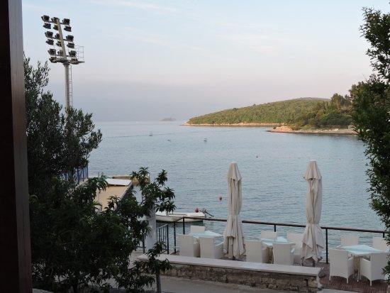 Hotel Korsal: Blick von der Restaurant-Terrasse